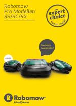 Robomow Pro brochure